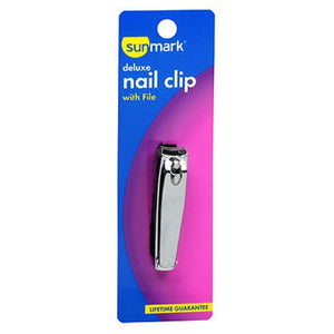 Sunmark Deluxe Nail Clip With File - 1 each