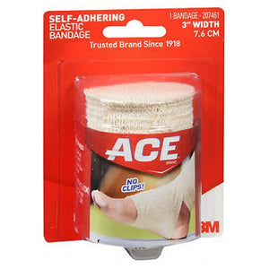 Ace Self-Adhering Elastic Bandage - 3 inches 1 each