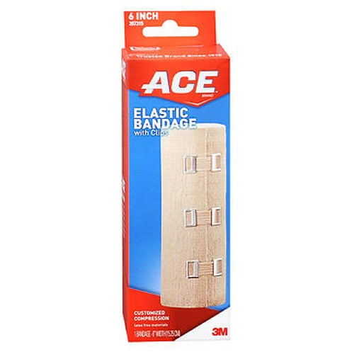 Ace Elastic Bandage With Clips 6 inches 1 each by Ace