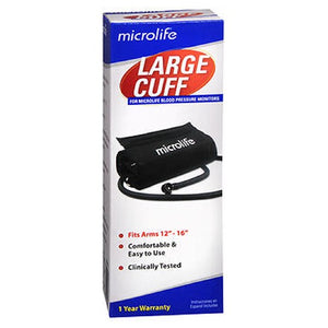 Microlife Cuff Large Blood Pressure Monitor Micr S102L - each