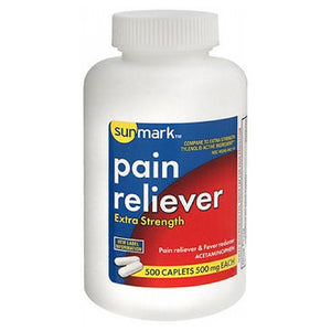 Sunmark Pain Reliever Extra Strength 500 tabs