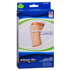 Sportaid Knee Brace Slip On - Beige small 1 each