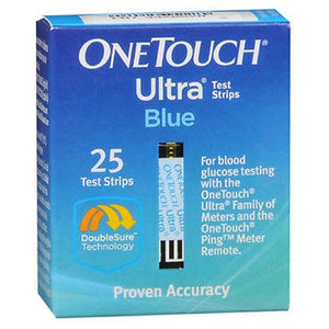 Onetouch Ultra Blue Test Strips - 25 each