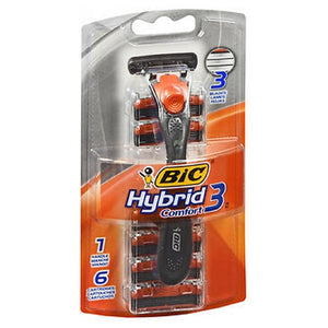 Bic Hybrid Advance Shaver - 6 each