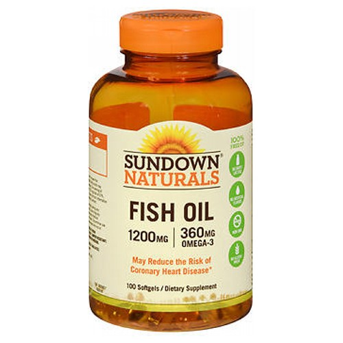 Sundown Naturals Extra Strength Fish Oil 90 caps