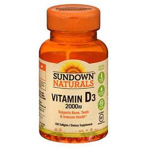 Sundown Naturals Vitamin D 120 caps