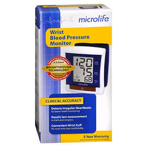 Microlife Wrist Blood Pressure Monitor Model Bp3My1-1P each