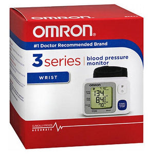 Omron 3 Series Wrist Blood Pressure Monitor 1 each
