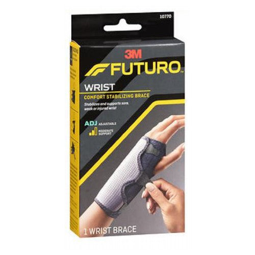 Comfort Stabilizing Wrist Brace Moderate Support Adjustable - 1 each