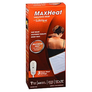 Softheat Heating Pad Moist Or Dry 1 each