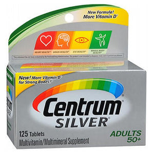 Centrum Specialist Silver 125 tabs by Centrum