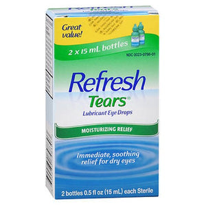 Refresh Tears Lubricant Eye Drops - 1 oz
