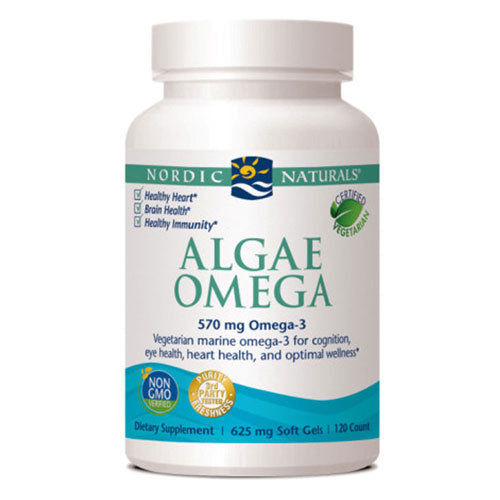 Algae Omega 120 Softgels by Nordic Naturals