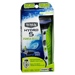 Schick Hydro 5 Power Select Razor 1 each