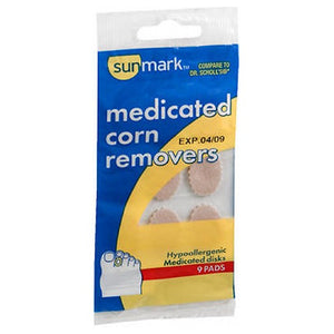 Sunmark Medicated Corn Removers - 9 each
