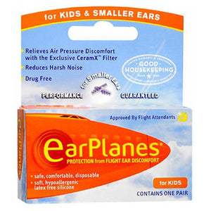 Earplanes Childrens Ear Plugs Disposable 1 each