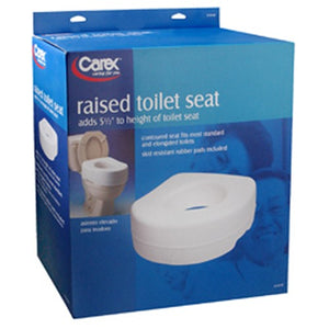 Carex Raised Toilet Seat - 1 each