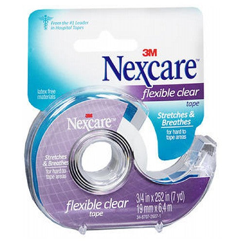 Nexcare Flexible Clear Tape 0.75 Inch by Nexcare