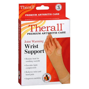 Therall Warming Wrist Support Brace Small 1 each