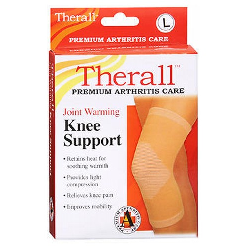 Therall Joint Warming Knee Support Large 1 each by Therall
