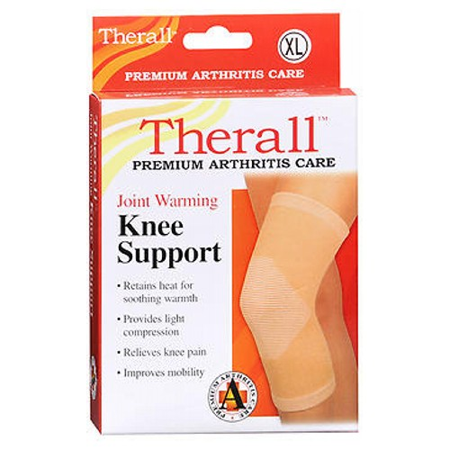 Therall Joint Warming Knee Support X-Large X-LARGE 1 each by Therall