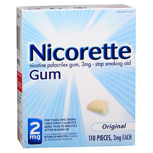 Nicorette Stop Smoking Aid Gum - Original 110 each