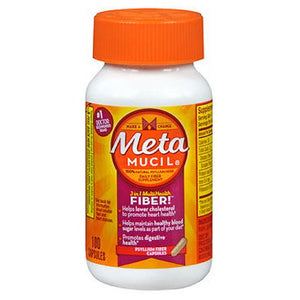 Metamucil Multihealth Fiber Capsules - 100 caps