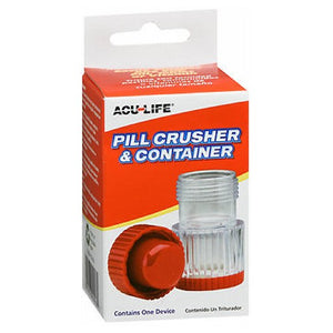 Acu-Life Pill Crusher And Container - 1 each