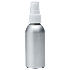Aluminum Mist Bottle With Cap 4 Oz by Aura Cacia