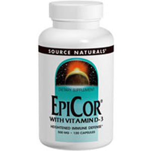 Epicor with Vitamin D-3 - 120 caps