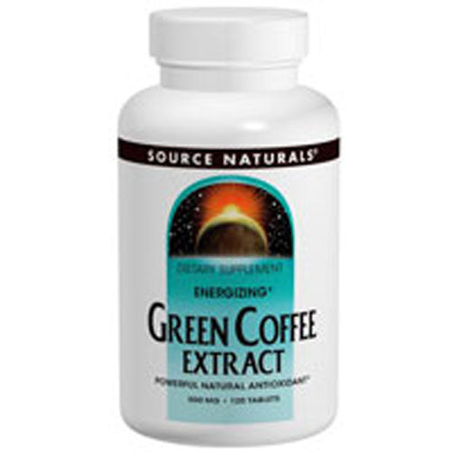 Green Coffee Extract Energizing 60 tabs by Source Naturals