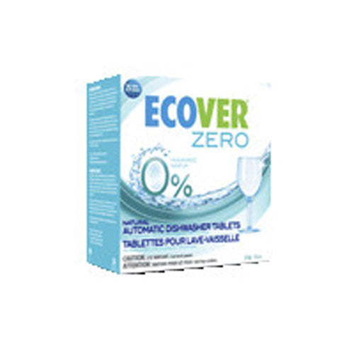 Zero Automatic Dishwasher Tablets 17.6 OZ(case of 6) by Ecover 0% Chlorine0% Coloring Agents0% Fragrance0% PhosphatesBiodegradable Suitable for Septic Tanks
