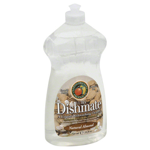 Ultra Dishmate Liquid Dishwashing Cleaner Natural Almond 25 oz(case of 6) by Earth Friendly A Liquid Dishwashing CleanerNatural Almond