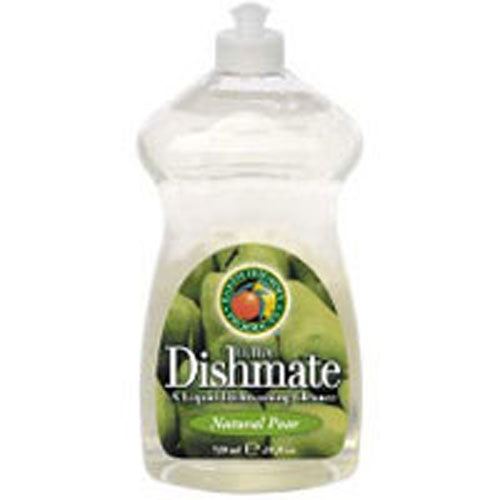 Ultra Dishmate Liquid Dishwashing Cleaner Natural Pear 25 oz(case of 6) by Earth Friendly 1,4- Dioxane FreeA Liquid Dishwashing CleanerCocamide DEA FreeNatural DerivedReadily BiodegradableRecyclable Bottle and CapSurfactant Derived From Coconut Oil.