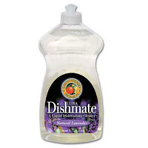Ultra Dishmate Liquid Dishwashing Cleaner Natural Lavender 25 oz(case of 6) by Earth Friendly 1,4-Dioxane Free100% Natural*Biodegradable and RecyclableDesign for The Environment U.S. EPAFor Love of The Planet Recognized for Safer Chemistry