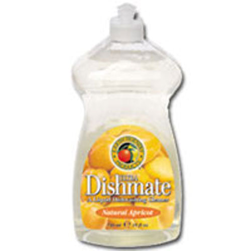 Ultra Dishmate Liquid Dishwashing Cleaner Natural Apricot 25 oz(case of 6) by Earth Friendly 1,4-Dioxane Free100% Natural*Biodegradable and RecyclableDesign for The Environment U.S. EPAFor Love of The Planet Recognized for Safer Chemistry