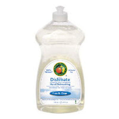 Ultra Dishmate Hand Dishwashing Free And Clear 25 oz(case of 6) by Earth Friendly 1,4-Dioxane Free100% Biodegradable100% Natural*All Natural, Ultra ConcentratedDesign for the Environment U.S. EPAFor Love of the PlanetFormaldehyde FreeLive Free. Live GreenNeutral pHPetrochemical Free - Made from PlantsRecognized for Safer ChemistrySeptic Safe - Greywater System Safe