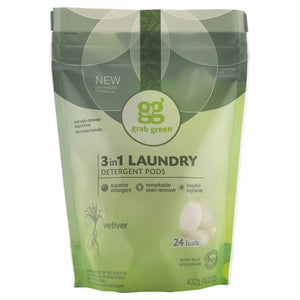3-in-1 Laundry Detergent - Vetiver 24 loads(case of 6)
