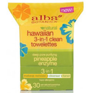 Hawaiian 3-in-1 Clean Towelettes - 30 CT