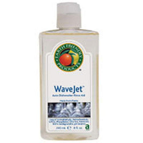 Wave Jet Auto Dishwasher Rinse Aid 8 OZ by Earth Friendly Made From PlantsFree of Formaldehyde, Petrochemicals, GMOs, Phosphates, Chlorine, AmmoniaBiodegradable, pH Balanced
