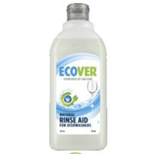 Ecological Rinse Aid For Dishwashers 16 OZ(case of 3) by Ecover Powered by Nature Suitable for Septic Tanks, Biodegradable, Not Tested on Animals