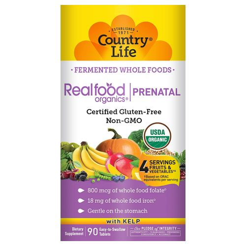 Realfood Organics Prental Daily Nutrition - 90 Tabs