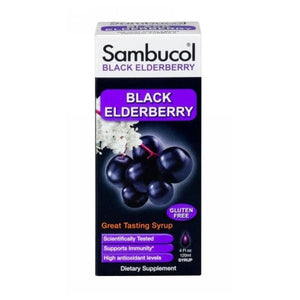 Black Elderberry Immune System Support Booster Liquid Sugar Free , 4 oz - Sugar Free 4 Oz