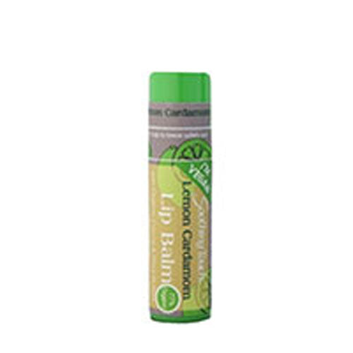 Lip Balm Vegan Lemon Cardamom .25 OZ(case of 12) by Soothing Touch