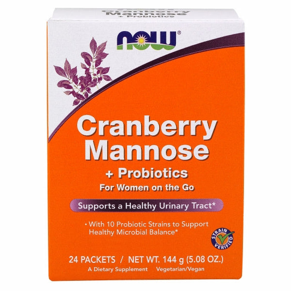 Cranberry Mannose plus Probiotics 24 each