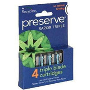 Razor Triple Replacement Blades - 4 pc, 1 pack