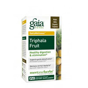 Triphala Fruit 60 CAPS by Gaia Herbs