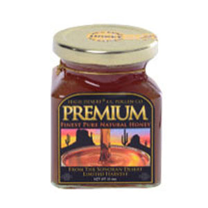 High Desert Premium Finest Pure Natural Honey 13.4 OZ by Cc Pollen