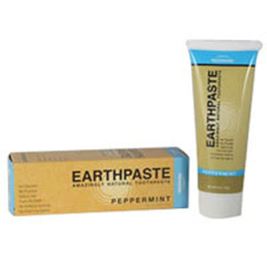 Natural Organic Flouride Free Toothpaste - Peppermint 4 OZ