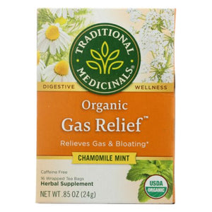 Organic Gas Relief Tea - 16 BAGS
